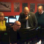 MP visits HiDef HQ