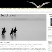 Seabirds.net launched, facilitating communication with researchers globally.